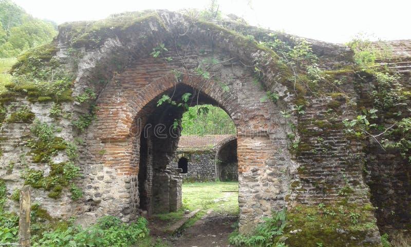 An Ancient Karavan Resort (Caravanserai) royalty free stock photos