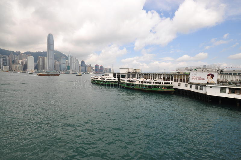 Picture of Ferry serving at Hong Kong Harbour