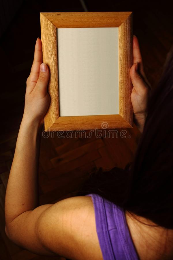 Download Picture frame stock photo. Image of reach, floor, missing - 13197952