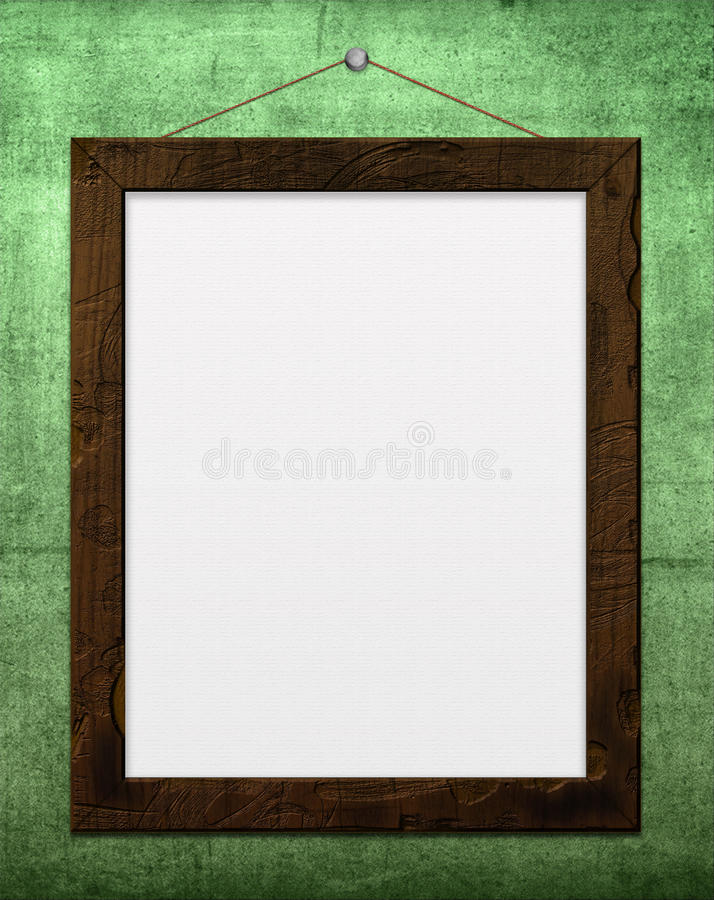 Download Picture frame stock illustration. Illustration of paper - 15776523