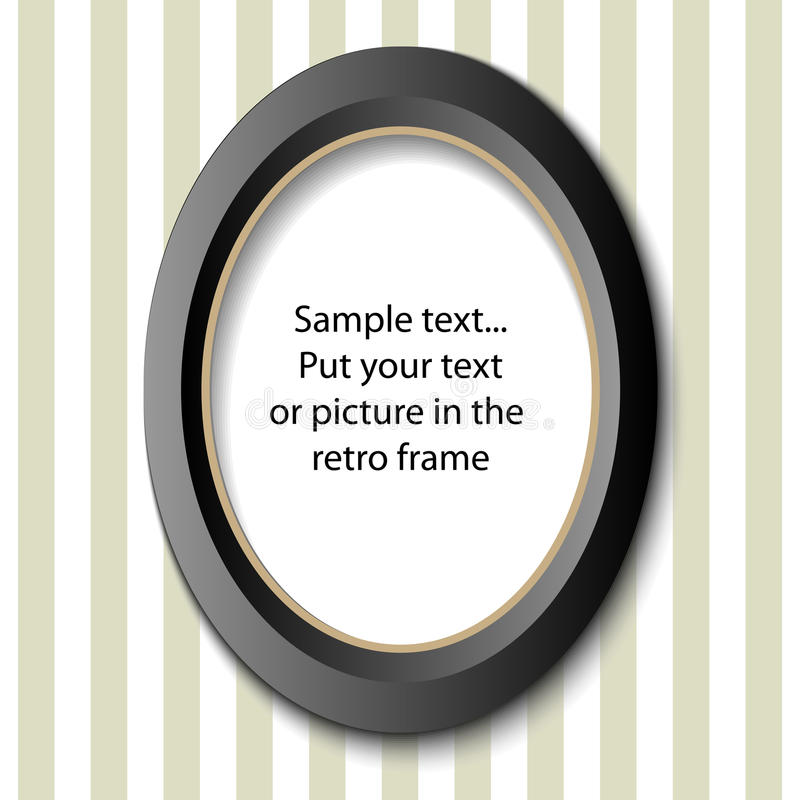 Picture frame royalty free illustration