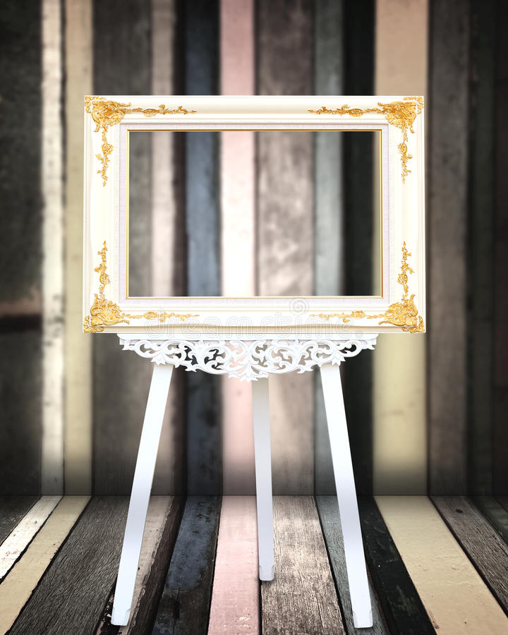 Download Picture frame stock photo. Image of design, gold, museum - 25726642