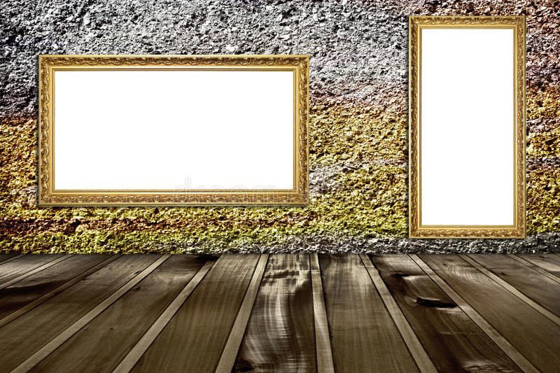 Download Picture frame stock image. Image of gallery, damage, cracks - 27430021