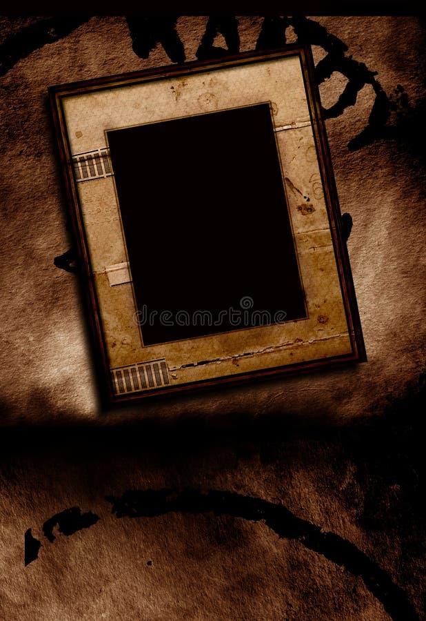 Picture Frame stock illustration