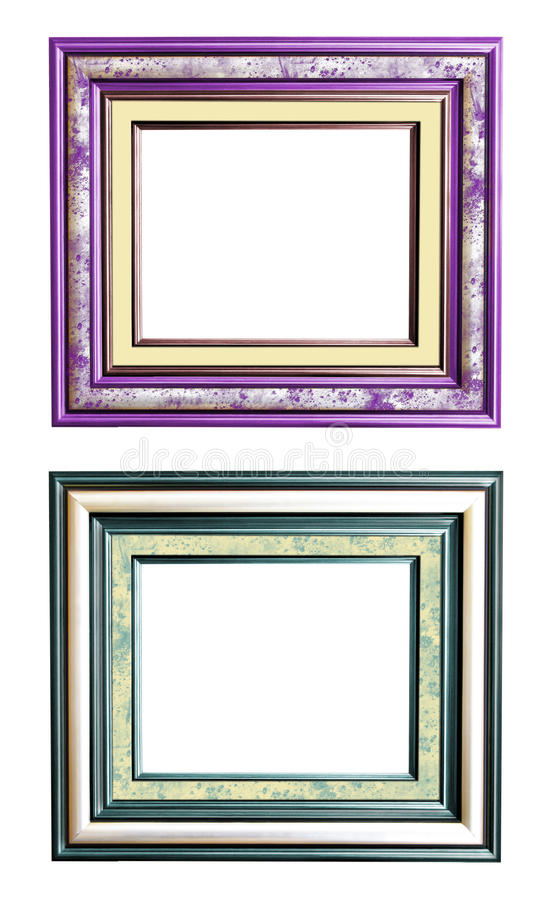 Picture frame collage stock photo