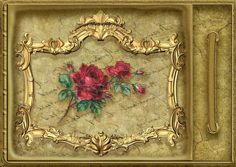 Picture Frame, Flower, Art, Still Life royalty free stock images