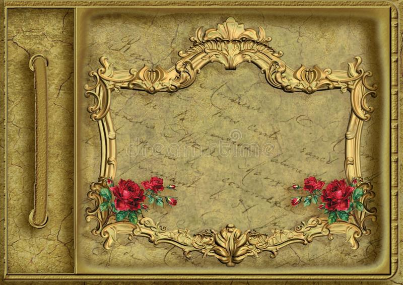 Picture Frame, Flower, Still Life, Art royalty free stock photography