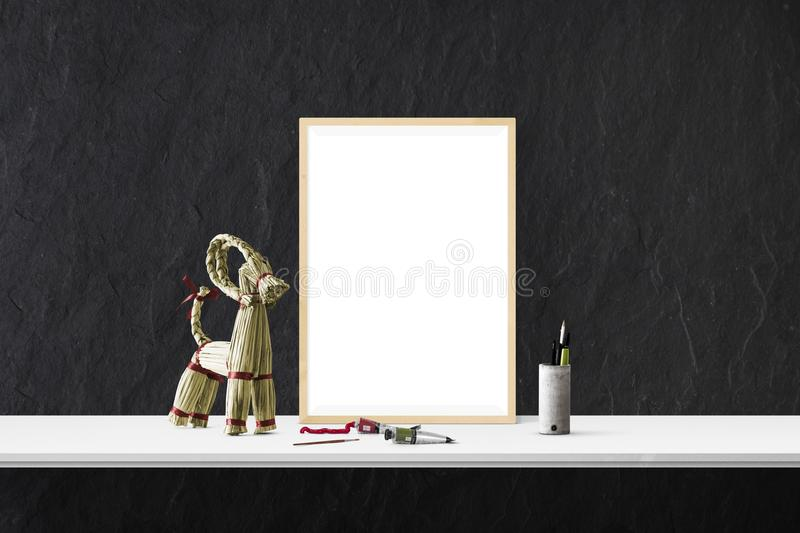 Picture Frame, Interior Design, Table stock photography