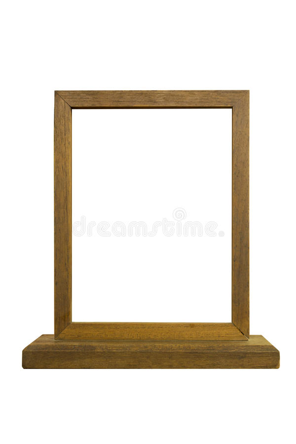 Picture frame. Isolated white background stock images