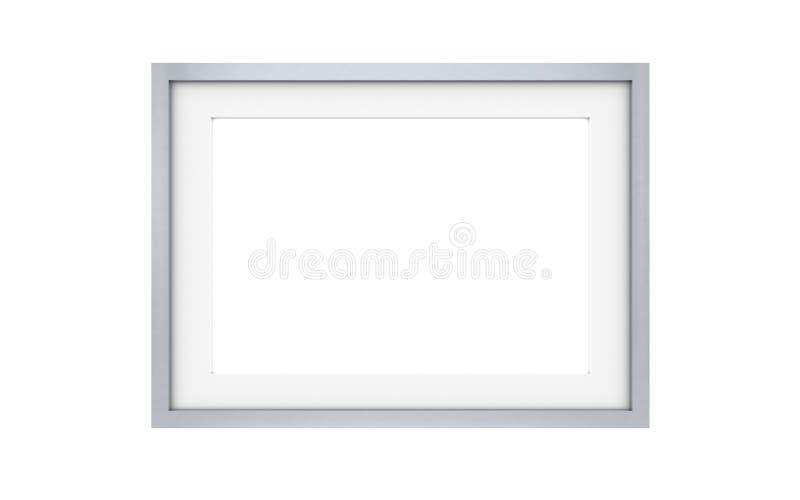 Picture frame, Steel vector illustration