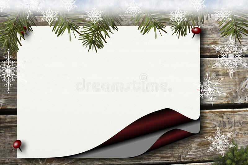 Picture Frame, Tree, Fir, Christmas Ornament royalty free stock photos