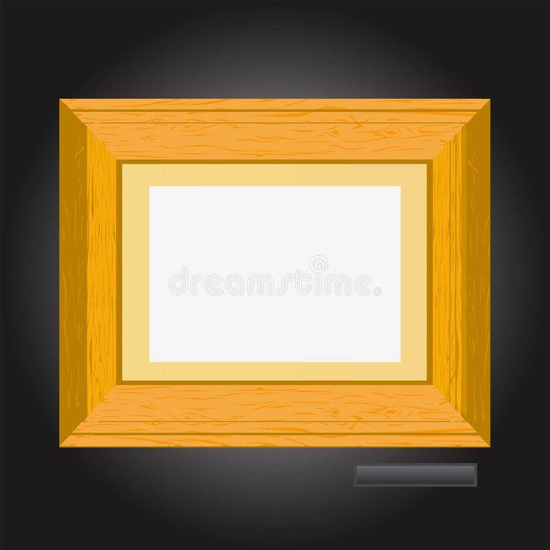 Free Picture Frame Vector 2 Royalty Free Stock Photography - 4469897