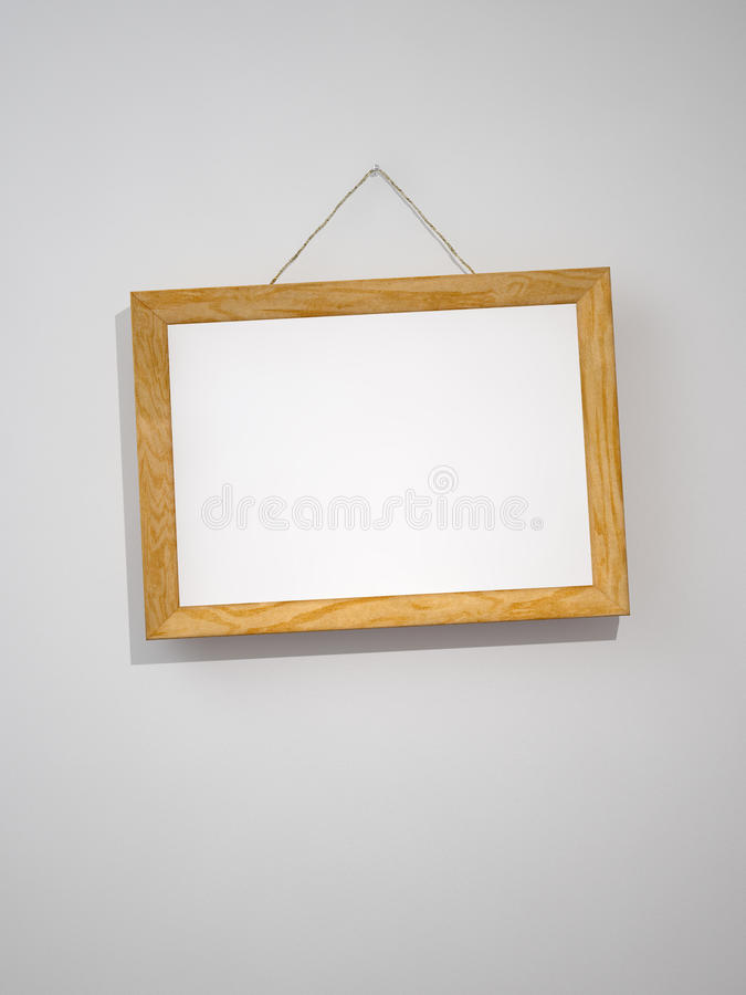 Download Picture frame on the wall stock illustration. Illustration of photograph - 10770750