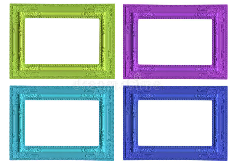 Download Picture frames stock photo. Image of grunge, blue, christmas - 28447036