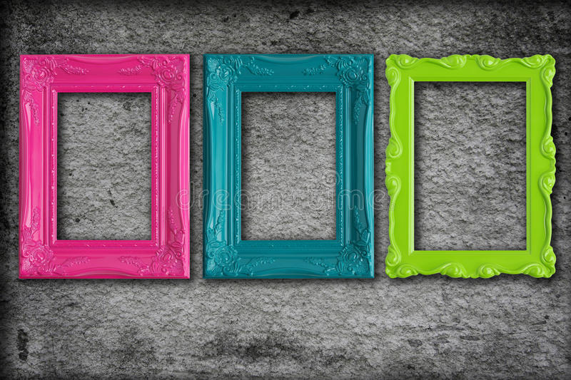 Download Picture frames stock illustration. Image of feminine, green - 9761708