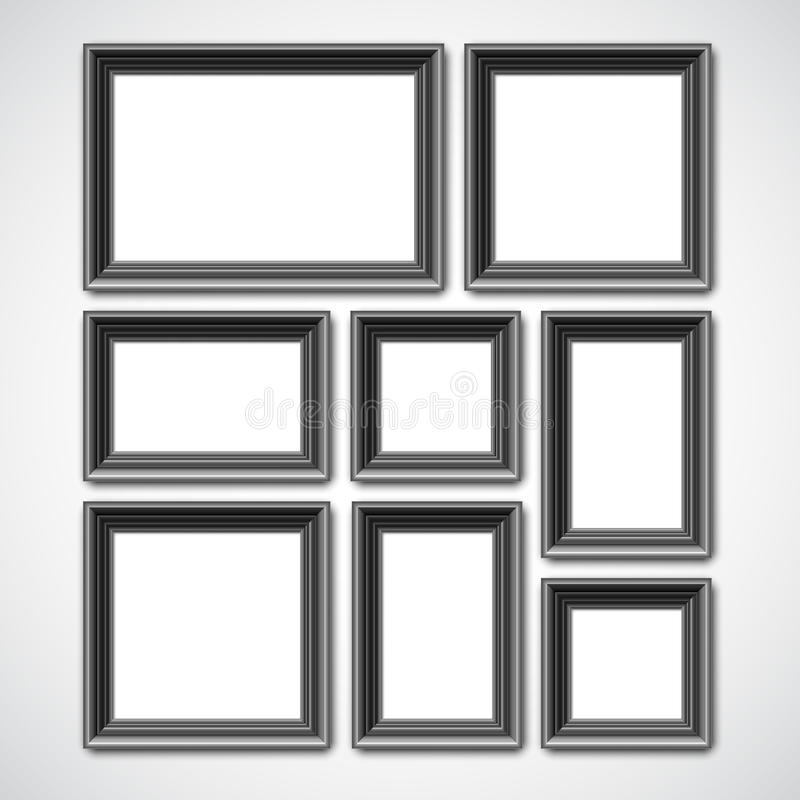 Picture Frames Collage stock vector. Illustration of antique - 71854541