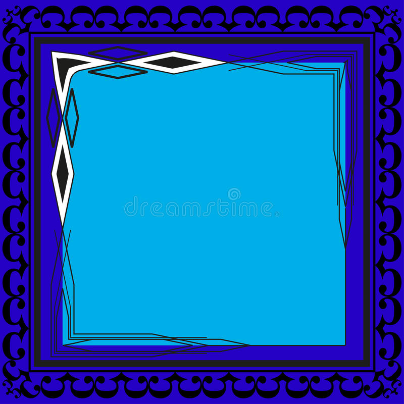 Picture frames color for your web design. Vector. EPS10 stock illustration