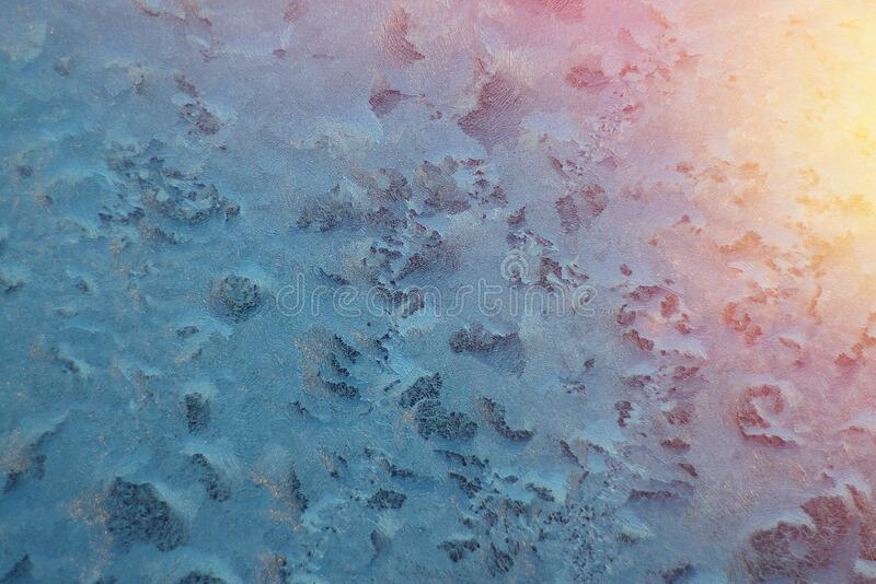Picture of frost on the glass royalty free stock images