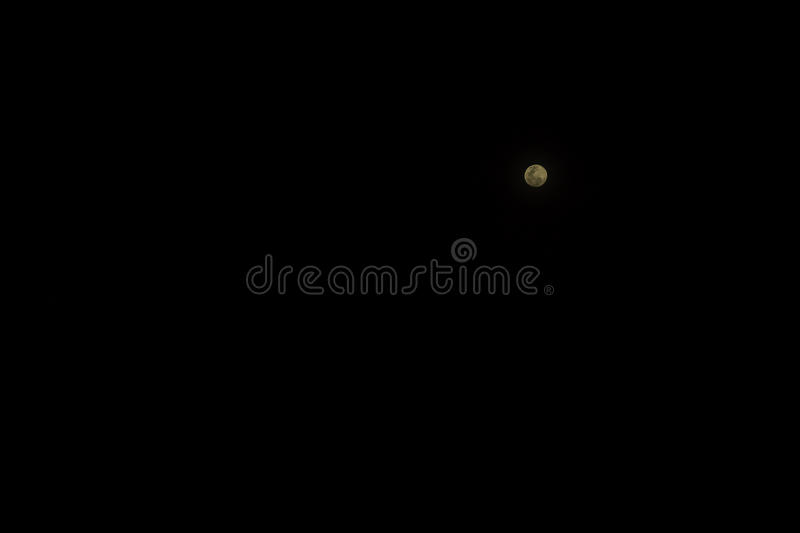 Picture of the full moon royalty free stock photo