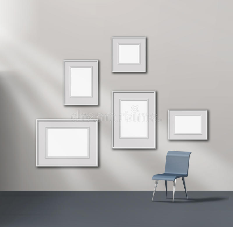 Download Picture gallery exhibition stock illustration. Image of blank - 22822384