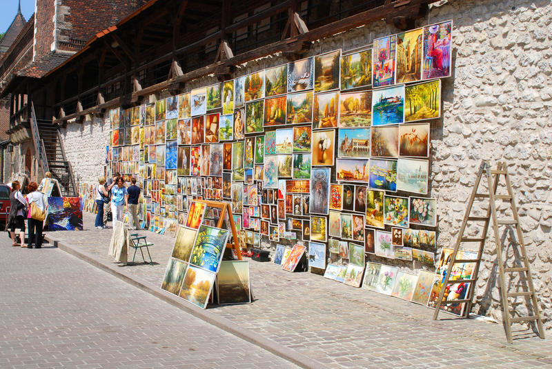 Download Picture Gallery At Florian Gate In Cracow Editorial Photography - Image: 14850822
