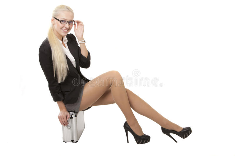 Download Picture of a girl stock photo. Image of white, associate - 23417736