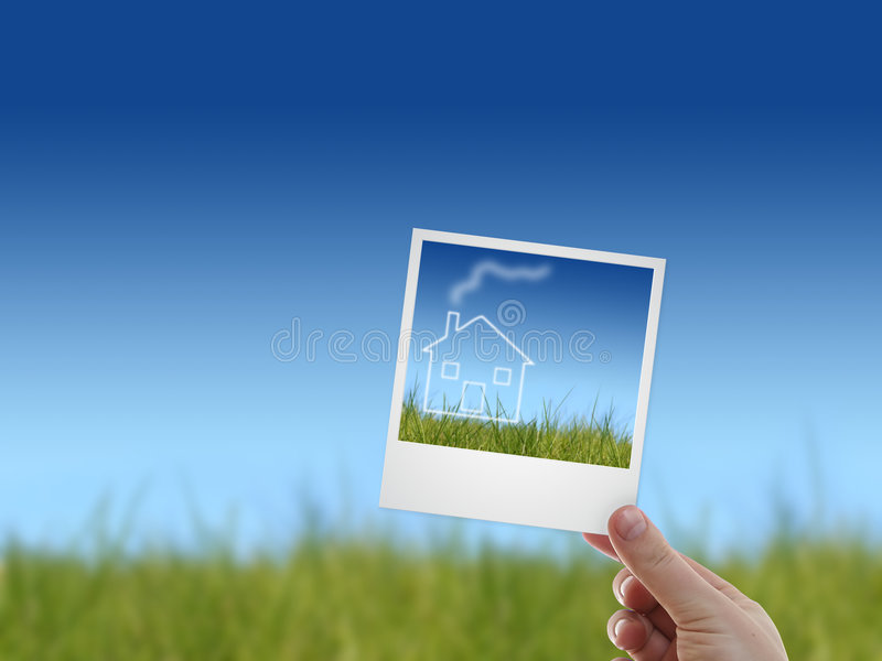 Download Picture In A Hand. Stock Photography - Image: 9344042