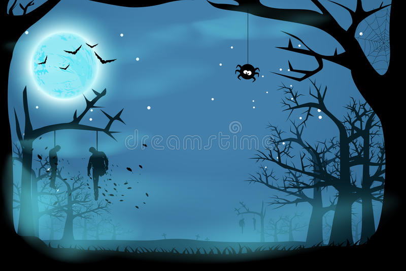 Picture of horror vector illustration