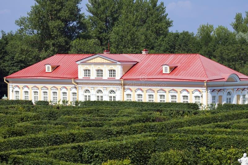 Picture house. Oranienbaum (Lomonosov). Lower park.  stock images