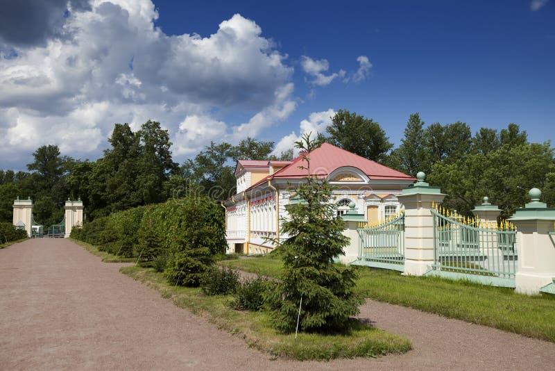 Picture house. Oranienbaum (Lomonosov). Lower park royalty free stock images
