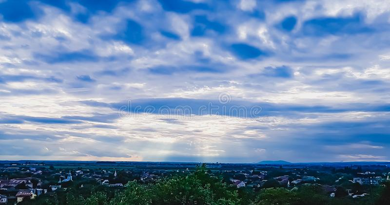 Mukachevo. This picture illustrates the view of Palanok Castle. July 2018 at Ukraine, Berehove stock photos