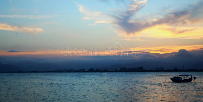 A Brazillian Sunrise royalty free stock photography
