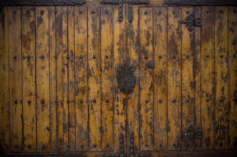 Download Grunge door stock photo. Image of obsolete, ancient, nail - 29832110