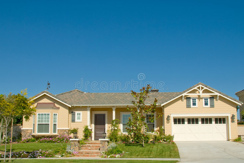 Picture Perfect Home in Nice Community stock photo