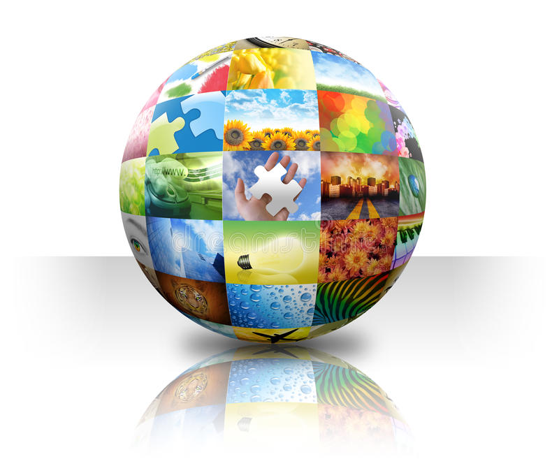 Download Picture Photo Gallery Ball On White Stock Illustration - Image: 17776388