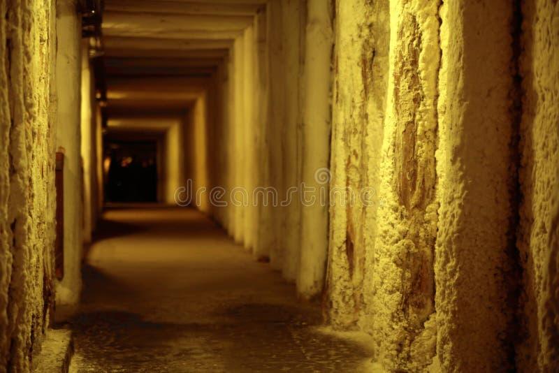 Picture presenting empty corridor stock image