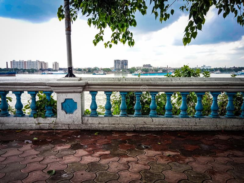 River side. This is picture of river side .it is a park royalty free stock photography
