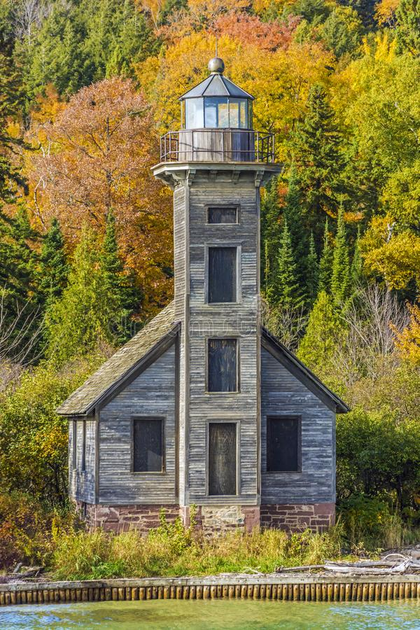 East Channel Lighthouse royalty free stock photos