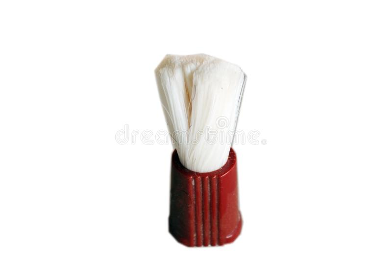 Old Used Shave Brush stock photos