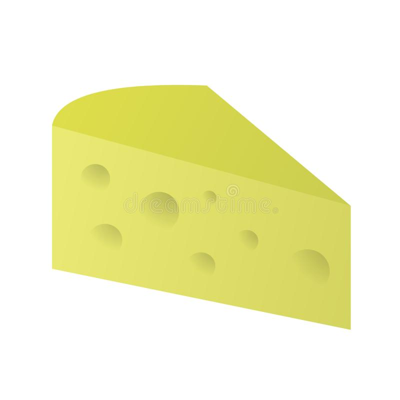 Tasty swiss cheese royalty free stock image
