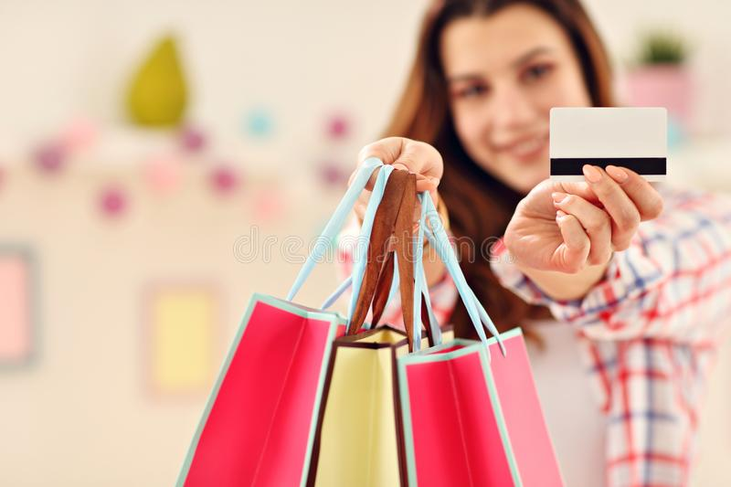 Attractive woman buying easter gifts online stock image image of download attractive woman buying easter gifts online stock image image of person giving negle Images