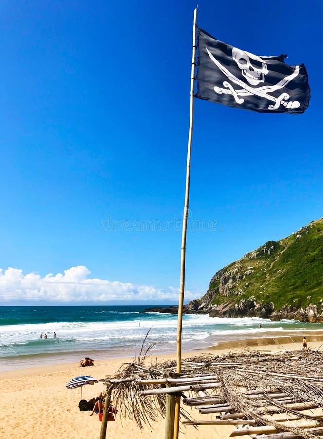Lagoinha do leste beach in Santa Catarina, Brazil the vendor view royalty free stock photos