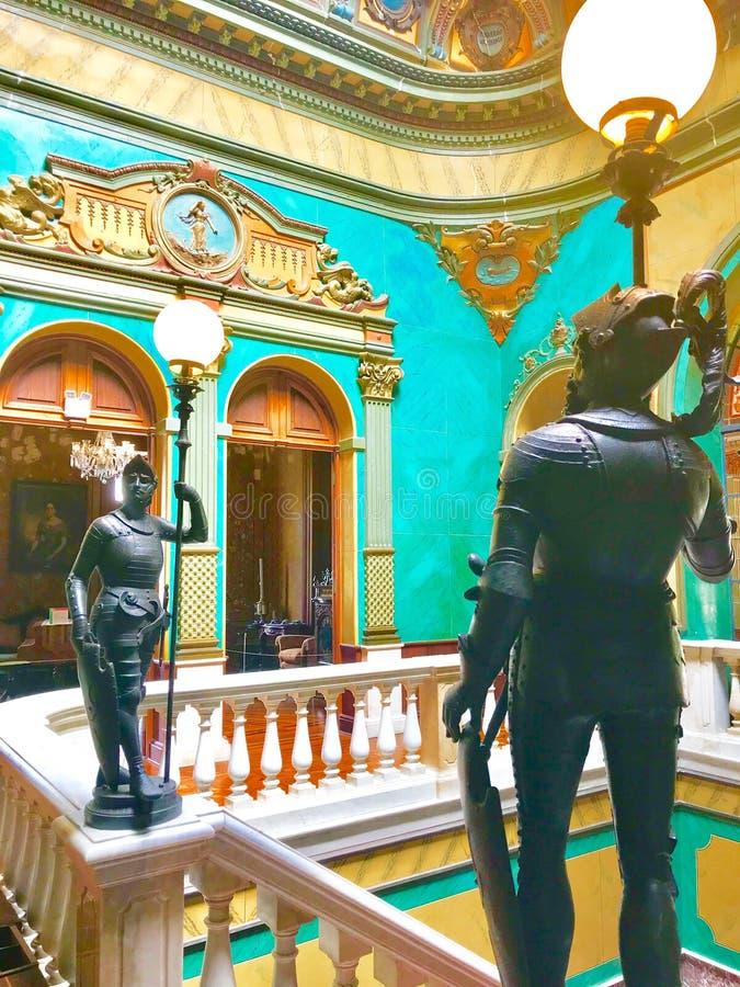 Museum in Santa Catarina, Florianopolis, Brazil stock images