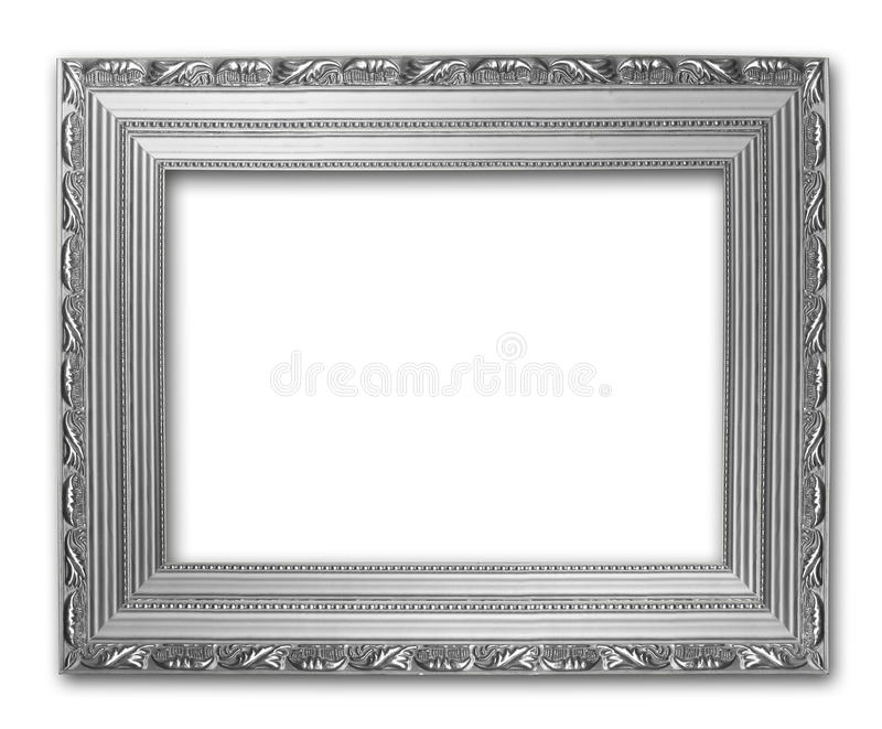 Picture silver frame royalty free illustration