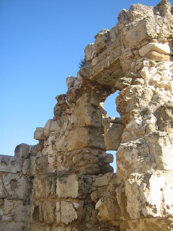 Roman remains stock photo