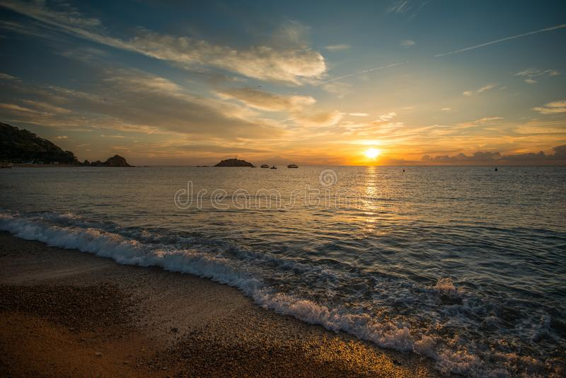Download Sunrise over water stock photo. Image of ocean, amazing - 29832164