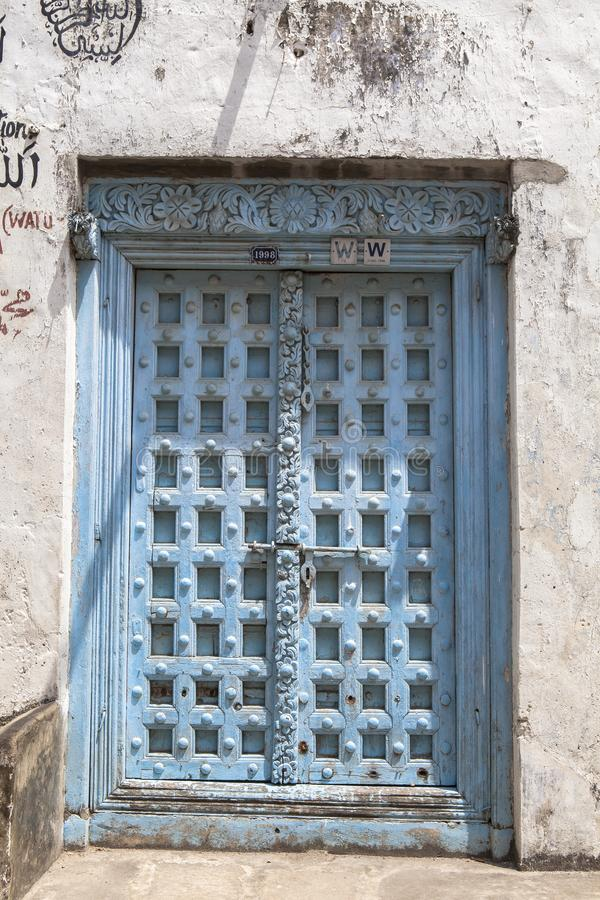 Life of Stone Town in Zanzibar Island, Tanzania. This picture is taken in Zanzibar island, Tanzania. Stone Town, also known as Mji Mkongwe Swahili for `old town stock photography