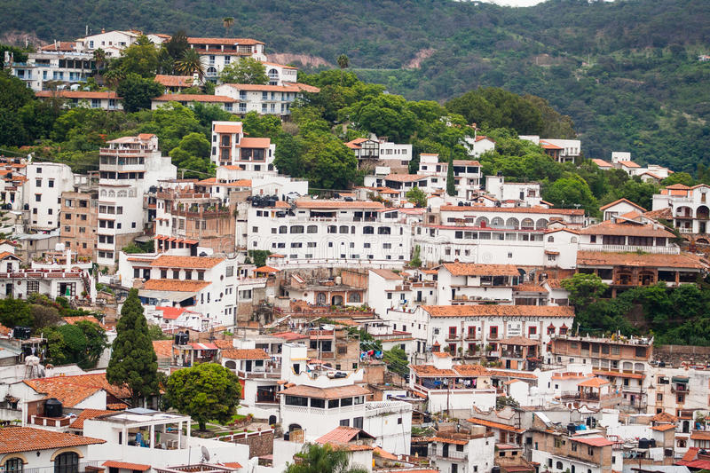 Picture of Taxco, Guerrero a colorful town in Mexico. stock image