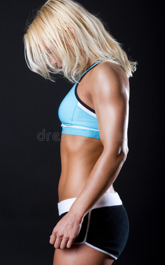 Download Picture Of Tired Sportswoman Stock Photo - Image: 14243806