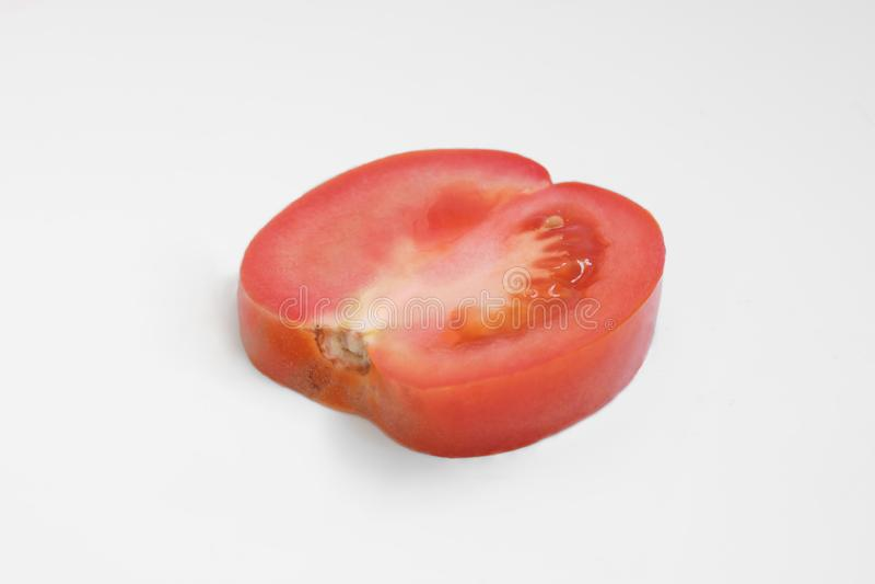 Tomato , sliced tomato stock image
